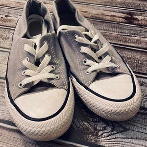 Gray Converse Size 7